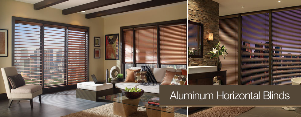 Aluminum Horizontal Blinds from Arjay's in Los Angeles