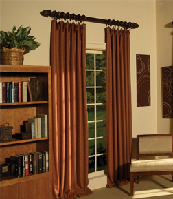 Study Window Treatments & Drapes
