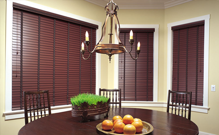 Faux Wood Blinds by Arjay's