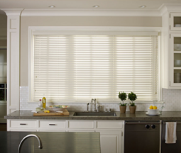 Faux Blinds for Kitchen