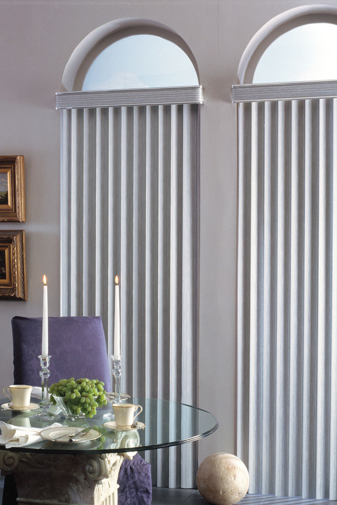 components of vertical blinds
