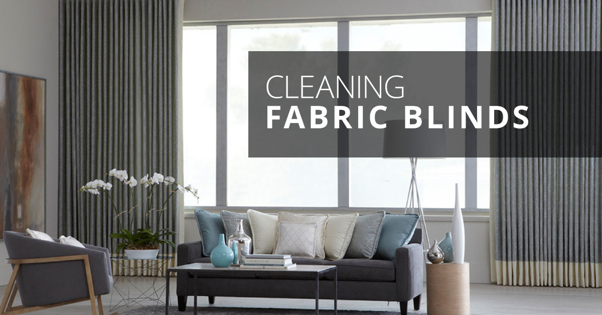 Custom Blinds Do You Have Fabric Blinds You Can Clean Them